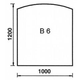 ORANIER Bodenplatte Bogen B6