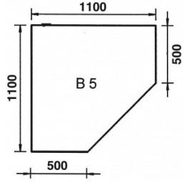 ORANIER Bodenplatte Eckmodell B5