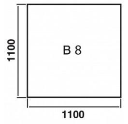 ORANIER Bodenplatte Quadrat B8