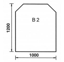 ORANIER Bodenplatte Trapez B2