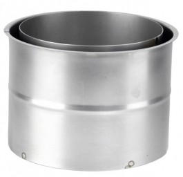 ORANIER Zubehör: Doppelwandfutter - Rohrstutzen 150 mm