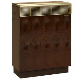 ORANIER Gasheizautomat 8941-60 Palma Relief – Majolikabraun