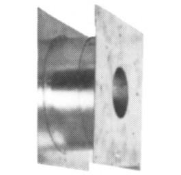 Teleskop-Holzwanddurchführung