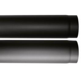 ORANIER Zubehör Rauchrohr: Farbe Gussgrau, Farbe Schwarz