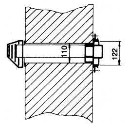 Übergangsplatte für Haller-Meurer-Rohrsystem