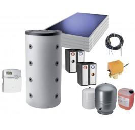 ORANIER Komplettpaket 1: Kaminofen mit Energiespeicher und Solarmodul