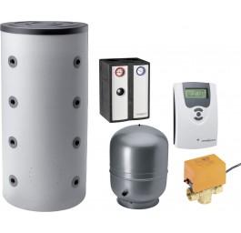 ORANIER Komplettpaket 2: Kaminofen mit Energiespeicher