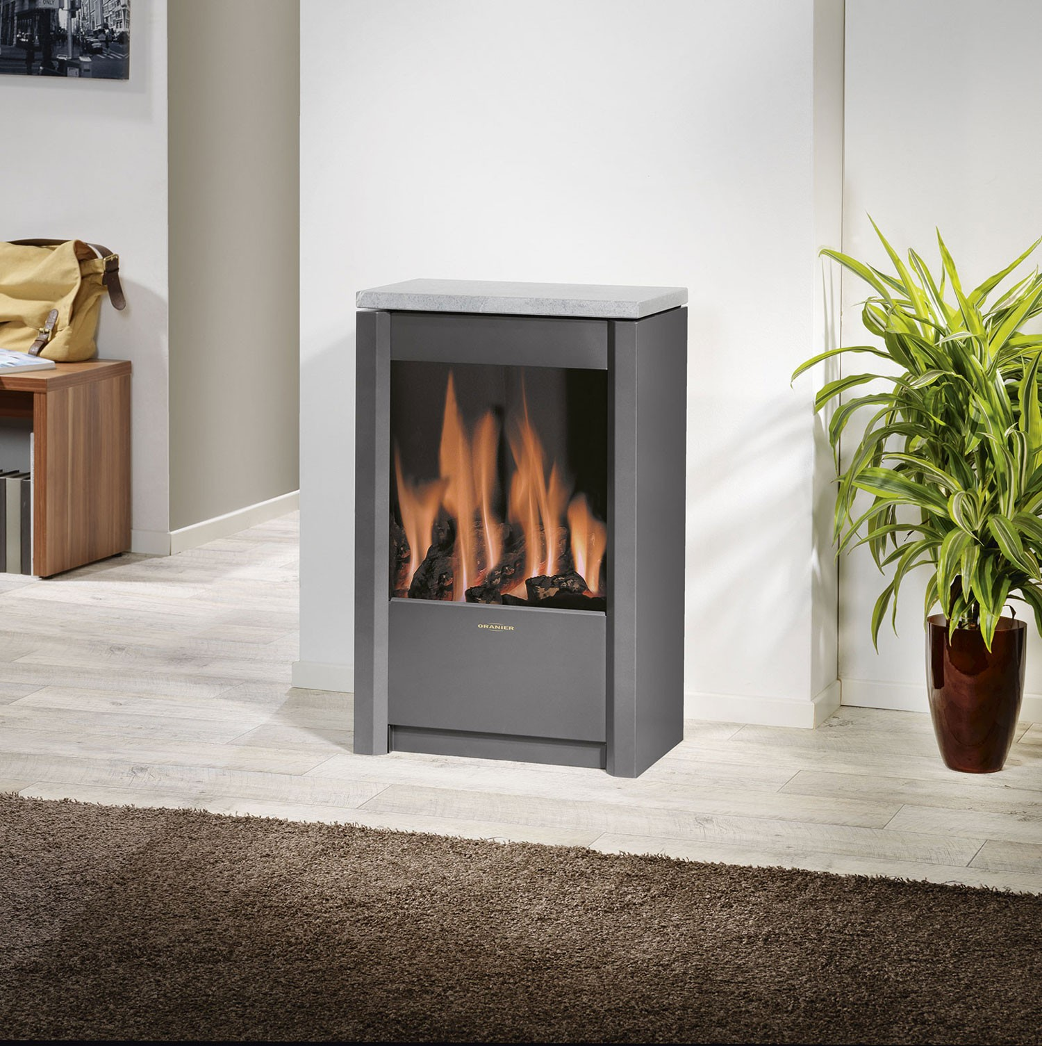 oranier gaskaminofen 60 50 mosel plan gas. Black Bedroom Furniture Sets. Home Design Ideas