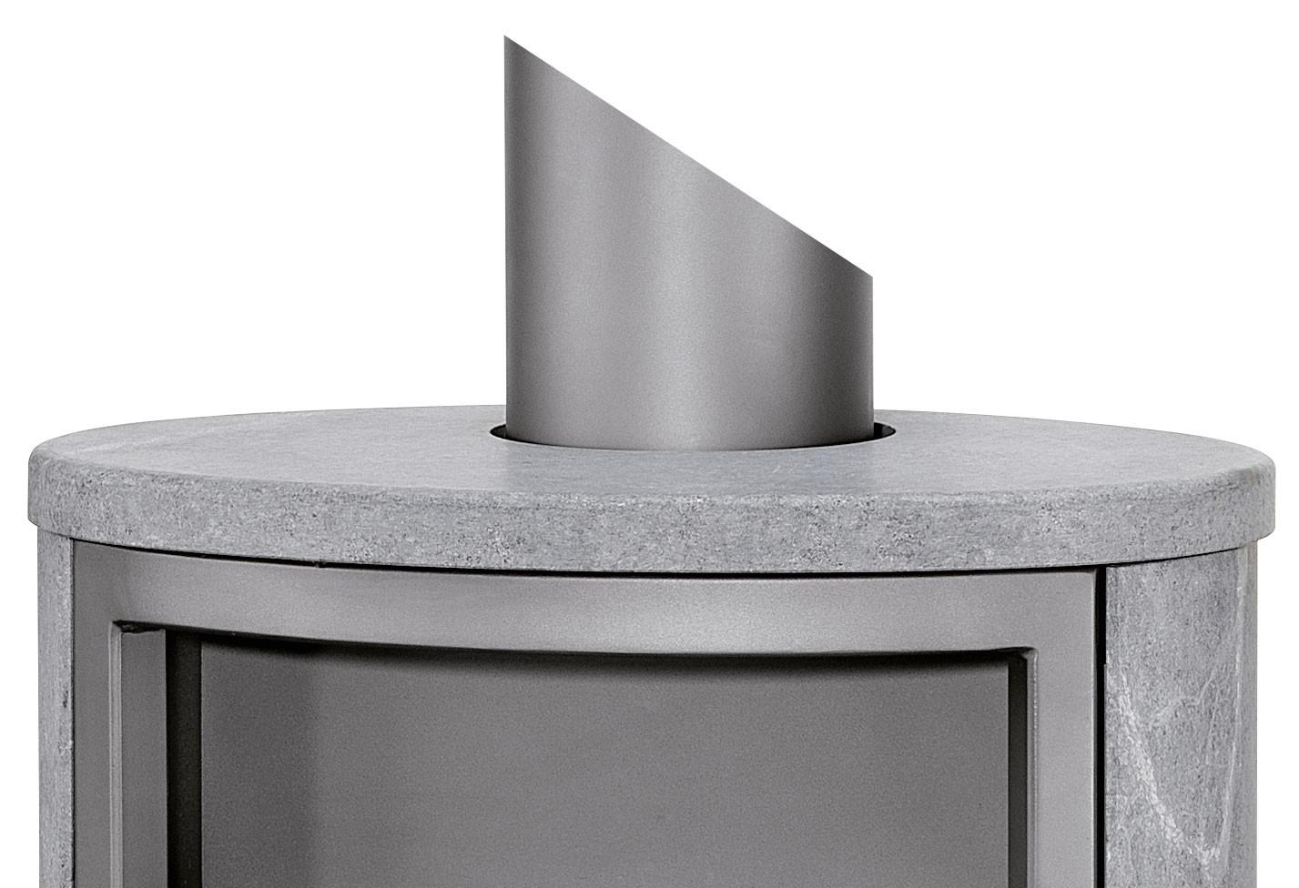 kombi abdeckplatte speckstein rund. Black Bedroom Furniture Sets. Home Design Ideas