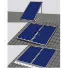 ORANIER Dachmontageset für 4er Set Solarkollektoren SFK 230