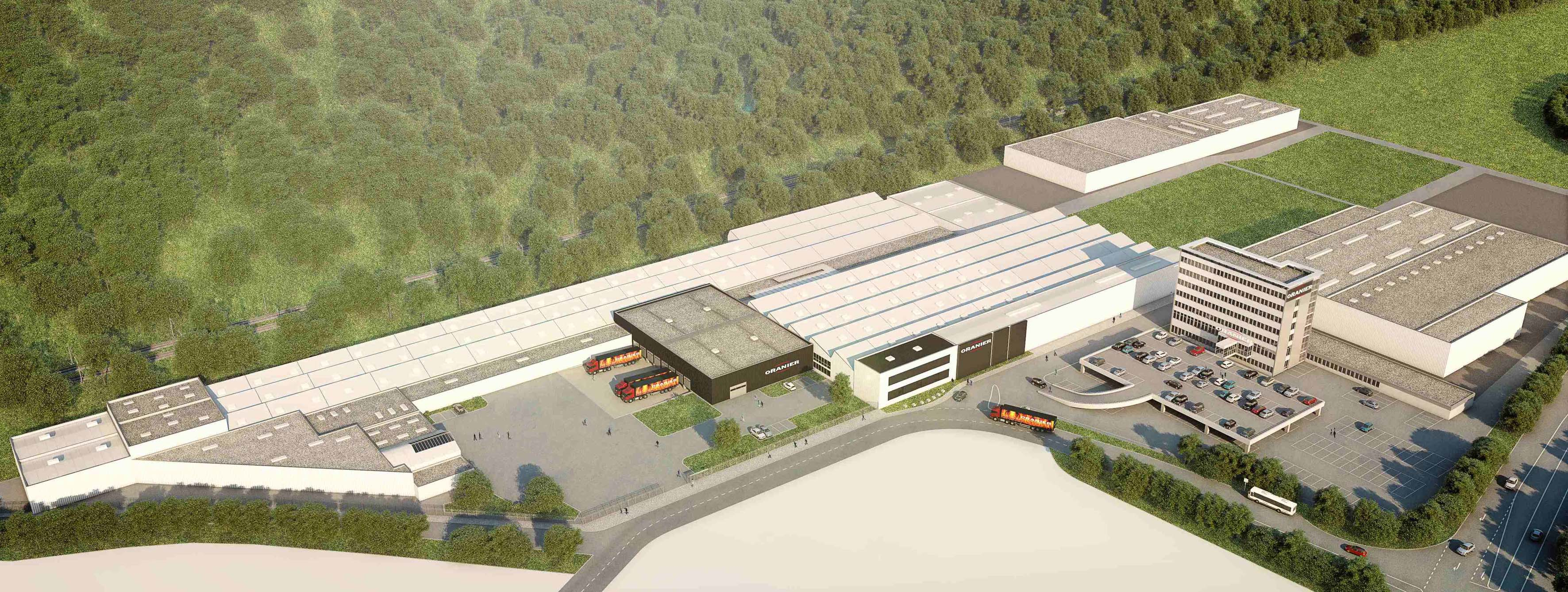 ORANIER erwirbt das Betriebsgelände der Firma Teka in Haige