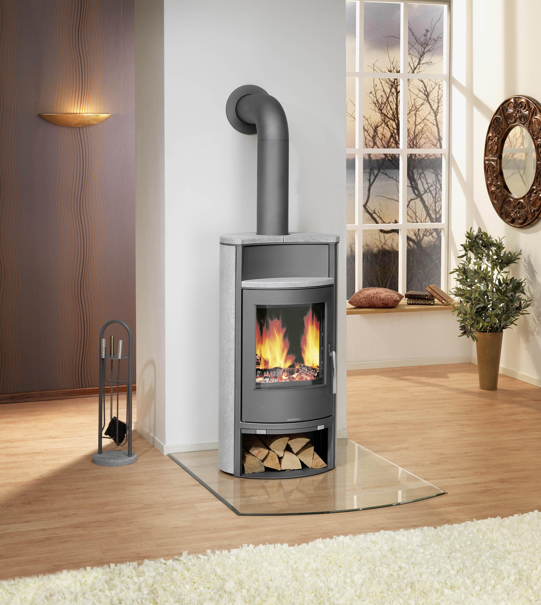 presse stahl keramik und naturstein der passende rahmen fuer das kaminfeuer. Black Bedroom Furniture Sets. Home Design Ideas