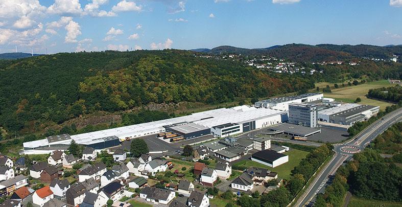 ORANIER-Werk in Dillenburg/Haiger